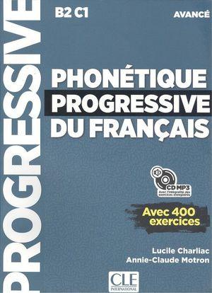 PHONETIQUE PROGRESSIVE DU FRANÇAIS AVANCÉ -NOUVELLE COUVERTURE