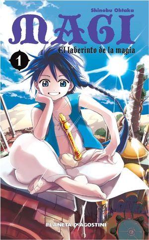 MAGI EL LABERINTO DE LA MAGIA Nº 01/37