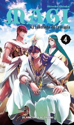 MAGI EL LABERINTO DE LA MAGIA Nº 04/37