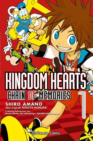 KINGDOM HEARTS CHAIN OF MEMORIES Nº 01/02 (NUEVA EDICIÓN)