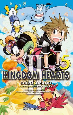 KINGDOM HEARTS II Nº 05/10 (NUEVA EDICIÓN)