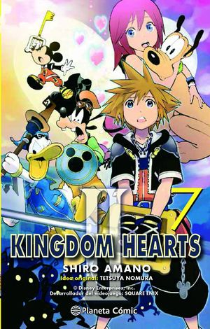 KINGDOM HEARTS II Nº 07/10