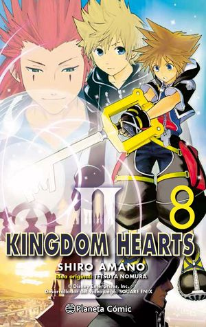 KINGDOM HEARTS II Nº 08/10