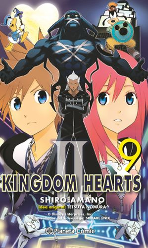 KINGDOM HEARTS II Nº 09/10