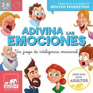 ADIVINA LAS EMOCIONES  2-6 AÑOS