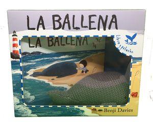 LA BALLENA - LIBRO Y PELUCHE