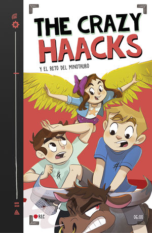 THE CRAZY HAACKS Y EL RETO DEL MINOTAURO (THE CRAZY HAACKS 6)