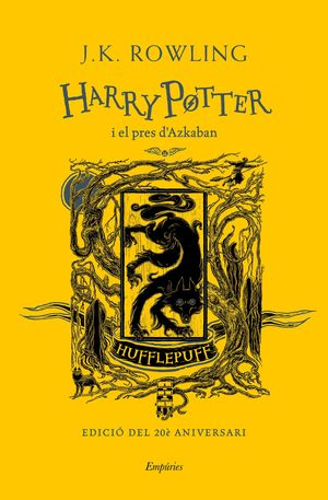 HARRY POTTER I EL PRES D'AZKABAN (HUFFLEPUFF)