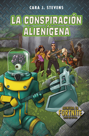 LA CONSPIRACIÓN ALIENÍGENA (BATTLE ROYALE: SECRETOS DE LA ISLA 2)