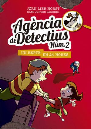 AGÈNCIA DE DETECTIUS NÚM. 2 - 3. UN REPTE EN 24 HORES
