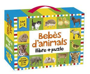 BEBÈS D'ANIMALS: LLIBRE + PUZLE