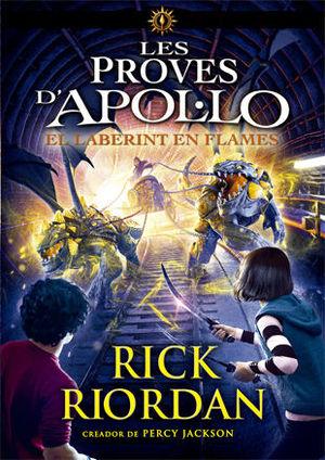 LES PROVES D'APOL·LO 3. EL LABERINT EN FLAMES