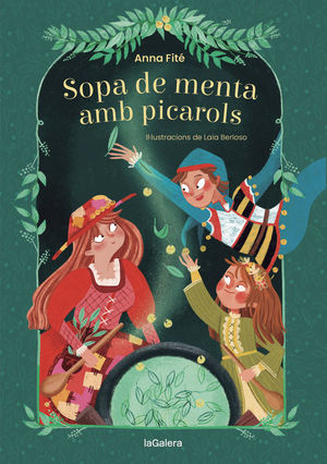 SOPA DE MENTA AMB PICAROLS