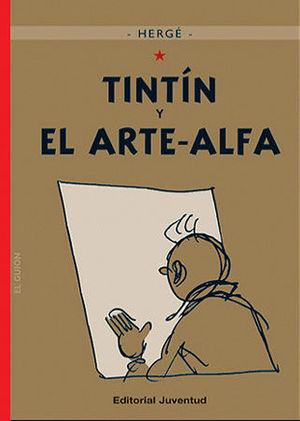 TINTÍN Y EL ARTE-ALFA (CARTONÉ)
