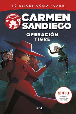 CARMEN SANDIEGO 3. OPERACIÓN TIGRE