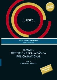TEMARIO OPOSICIÓN ESCALA BÁSICA POLICÍA NACIONAL