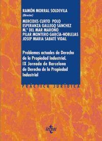 PROBLEMAS ACTUALES DE DERECHO DE LA PROPIEDAD INDUSTRIAL.