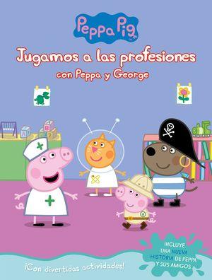 JUGANDO A SER MAYOR CON PEPPA Y GEORGE (PEPPA PIG. ACTIVIDADES)