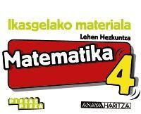 MATEMATIKA 4. HORMA-IRUDIAK.