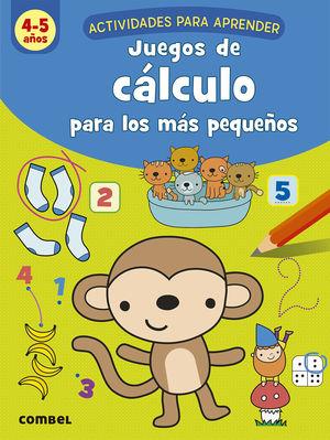 JUEGOS DE CALCULO PARA LOS MAS PEQUEÑOS 4-5 AÑOS