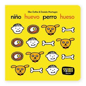 NIÑO HUEVO PERRO HUESO.WONDER