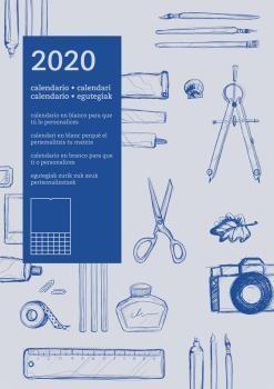 2020 CALENDARIO PARED DIY AUTONOMICO