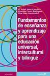 FUNDAMENTOS DE ENSEÑANZA Y APRENDIZAJE PARA UNA EDUCACIÓN
