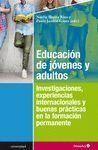 EDUCACIÓN DE JÓVENES Y ADULTOS