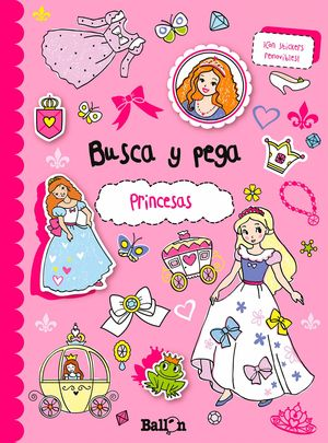PRINCESAS - BUSCA Y PEGA