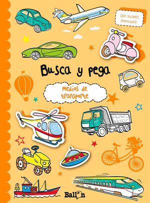 MEDIOS DE TRANSPORTE - BUSCA Y PEGA